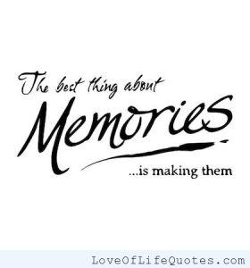 memories quote